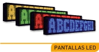 pantalla electronica display leds